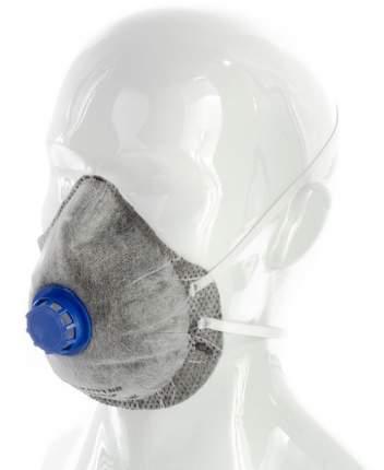 Респиратор фильтрующий Сибртех 89246 Исток FFP1 с клапаном и угольным слоем (Серый)