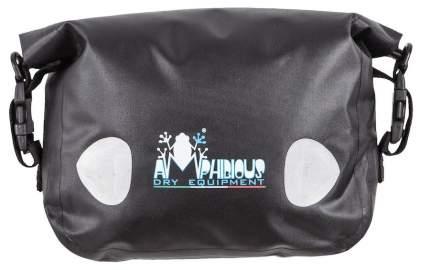Боковая сумка на мотоцикл Amphibious Sidebag 4/5,5 литров Черный