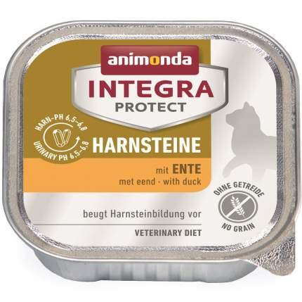 Консервы для кошек Animonda Integra Protect Harnsteine Urinary, при МКБ, с уткой, 100г
