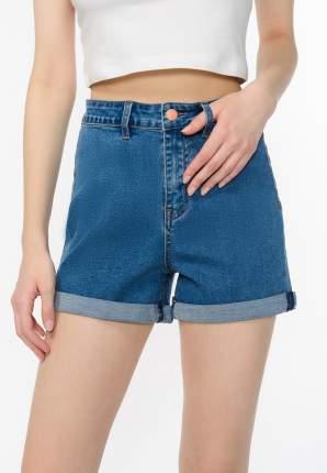 Джинсовые шорты женские Modis M201D00335 синие 42 RU