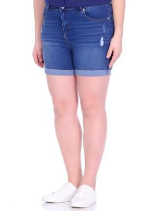 Джинсовые шорты женские Modis M201D00359 синие 54 RU