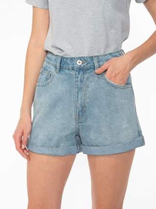 Джинсовые шорты женские Modis M201D00428 голубые 52 RU