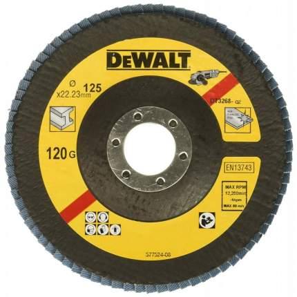 Круг лепестковый шлифовальный для шлифовальных машин DeWalt DT3268-QZ