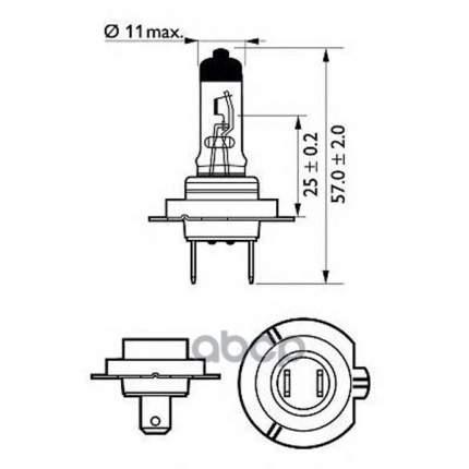 Лампа Cityvision Moto 1 Шт. (H7) 12v 55w Px26d Philips 12972CTVBW