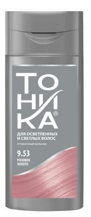 Бальзам для тонирования волос ТОНИКА 9.53 розовое золото colorevolution 150 мл