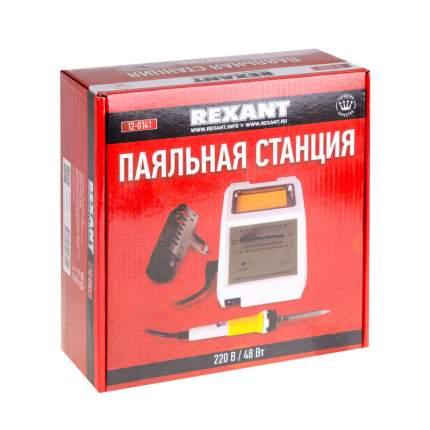 Паяльная станция REXANT (150-450 °С), 220 В/48 Вт