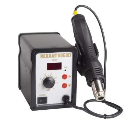 Паяльная станция REXANT (термофен) термовоздушная, с цифровым дисплеем, 150-500 °С
