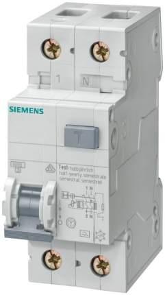 Дифф. Автомат  Siemens ТИП AС , УСТ. ГЛУБИНА=70мм IFN 30мА, 6KA, 1+N-ПОЛ. тип C 6A