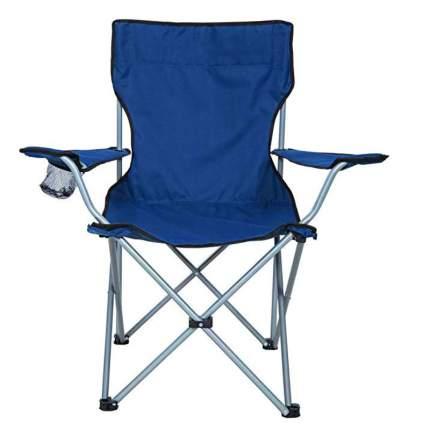 Туристическое раскладное кресло Baziator 4080, 55х52х90 см, синий