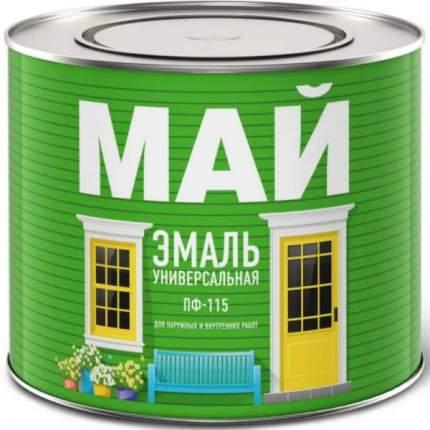 Эмаль МАЙ ПФ-115 БЕЛАЯ 1,9 кг