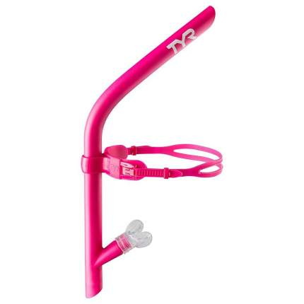 Трубка прямая TYR Ultralight Snorkel, цвет 670 (Pink)