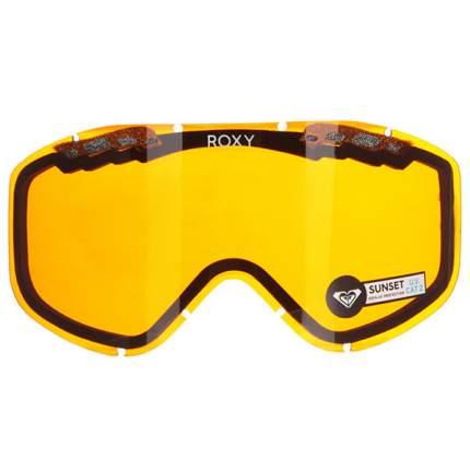 Линза для маски ROXY женская Roxy Sunset Bas Lns, оранжевый, One Size