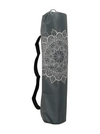 Чехол для йоги RamaYoga Мандала, серый