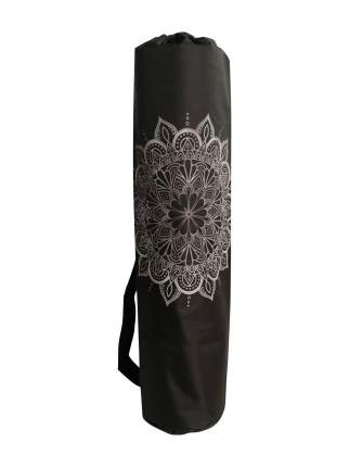 Чехол для йоги RamaYoga Мандала, черный