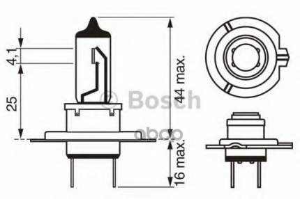 Лампа H7 12v 55w Longlife Daytime Bosch 1 987 302 078