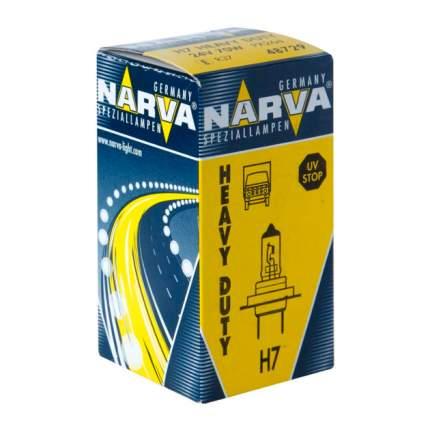 Лампа H7 Heavy Duty 24v 70w Px26d Nva (Упаковка Carton Box 1 Шт) Narva 487293000