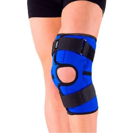 Бандаж ортопедический ORTO NKN 149, коленный синий