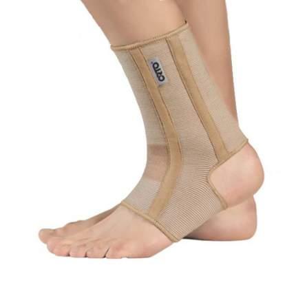 Бандаж с ребрами жесткости на голеностопный сустав BAN 400 Orto, р.M