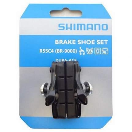 Тормозные колодки Shimano шоссейн. Shimano, R55C4, пара, для BR-R7010/5810/5710 Y8LJ98010