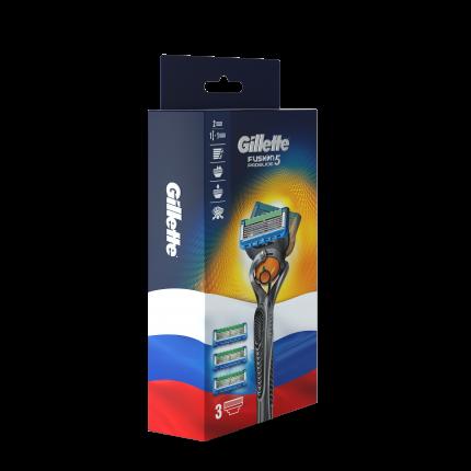 Мужская бритва Gillette Fusion5 ProGlide с 3 сменными кассетами