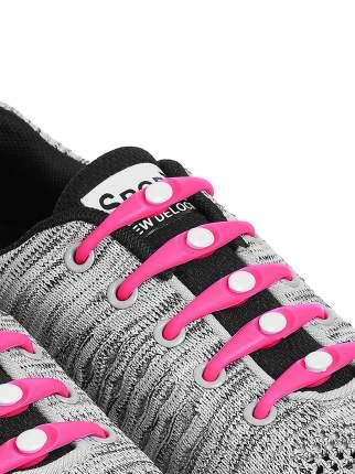 Шнурки для обуви Lumo силиконовые LM-SL-10 розовые