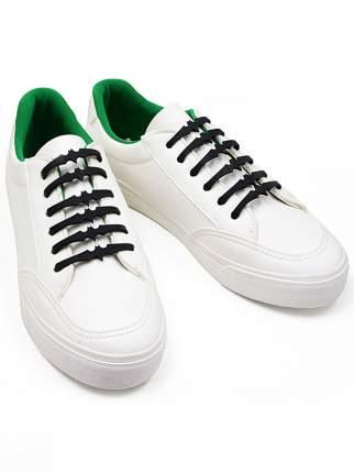 Шнурки для обуви Lumo LM-SLB-01 силиконовые Бэтмен черные