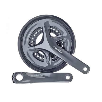 Велосипедные шатуны Shimano Claris R2000 EFCR2000EX04C 175 мм
