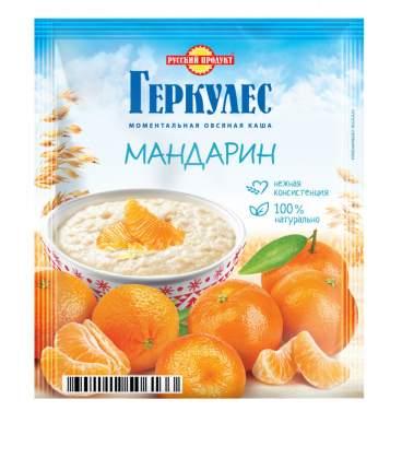 Овсяная каша Русский продукт моментальная геркулес с мандаринами 35 г