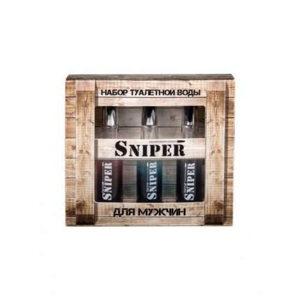 Подарочный набор Понти Парфюм SNIPER 3*20 мл