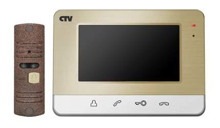 Комплект видеодомофона CTV-DP401 - Золото
