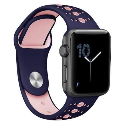 Сменный ремешок Nuobi Sport ver.3 для Apple Watch 42/44mm Blue/Pink