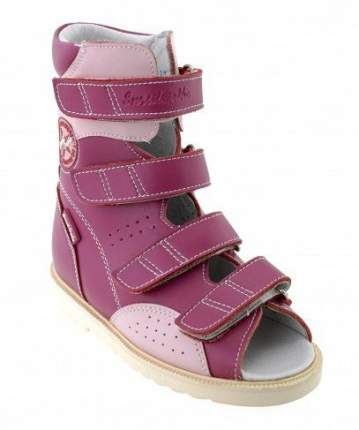 Ортопедические сандалии Sursil-Ortho 13-119 для девочек светло-розовый