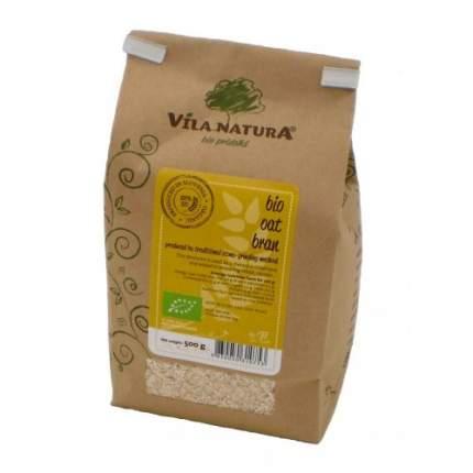 Отруби овсяные жерновые био Vila Natura 3 пакета по 400 г