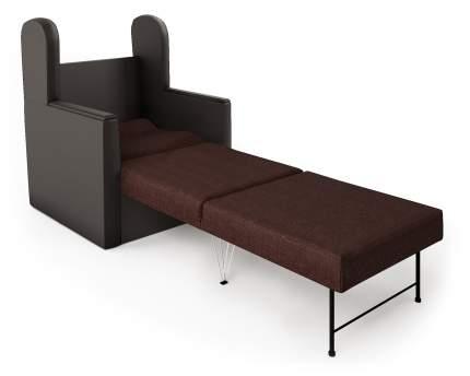 Кресло-раскладушка Классика Д шоколад и рогожка