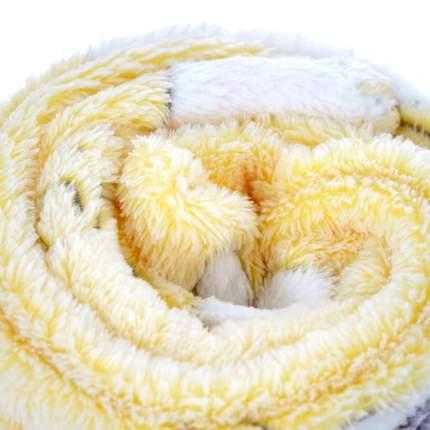 Плед-покрывало Baby Nice Барашки на желтом, 75х100 см