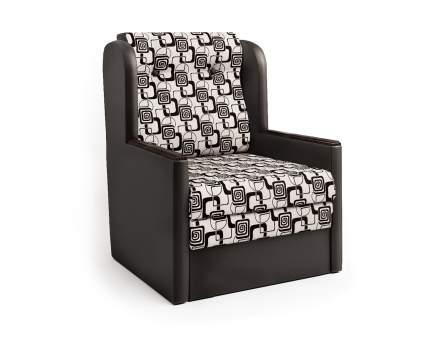 Кресло-раскладушка Классика Д шоколад и ромб