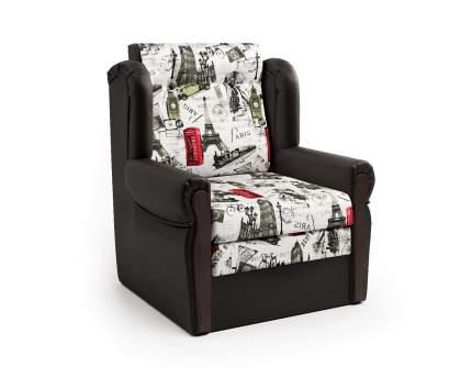 Кресло-раскладушка Классика М шоколад и велюр