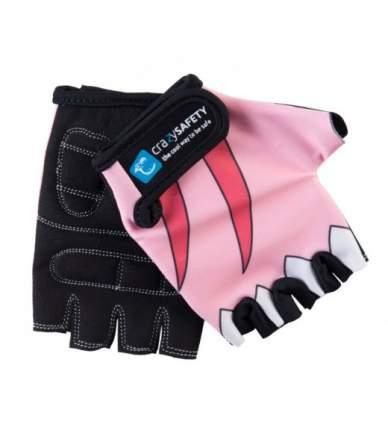 Перчатки Crazy Safety Pink Shark Розовая Акула, размер S