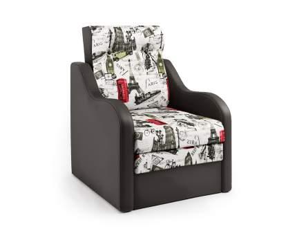 Кресло-раскладушка Классика В шоколад и велюр