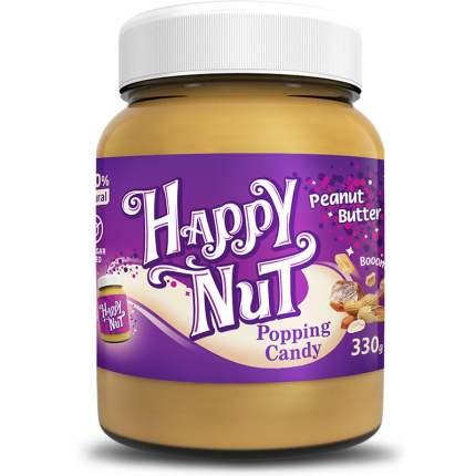Арахисовая паста HAPPY NUT со взрывной карамелью 330 г
