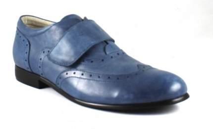 Туфли 33-323, сменная школьная для мальчиков Sursil-Ortho синий, р.32