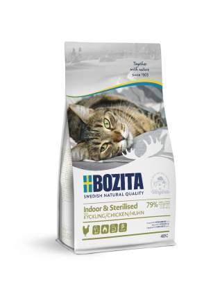 Сухой корм для кошек BOZITA Indoor & Sterilised, для стерилизорванных, курица, 2кг