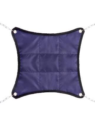 Гамак для хомяков и мышей Монморанси Шустрик малый, синий, 18х18 см