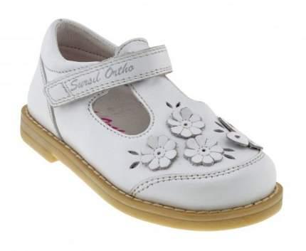 Ортопедические туфли Sursil-Ortho 55-171_M для девочек белый