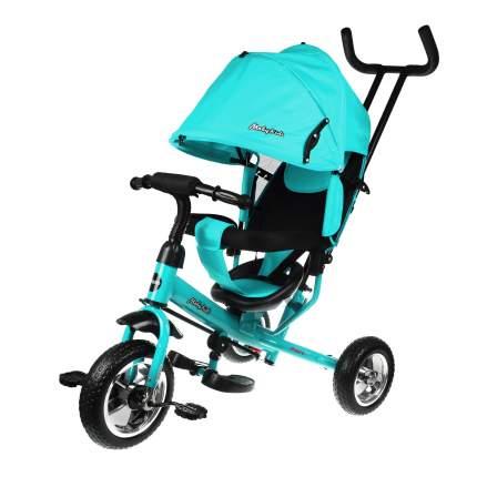 Велосипед трехколесный Moby Kids Start бирюзовый