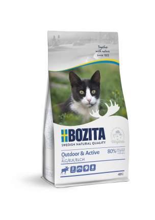 Сухой корм для кошек BOZITA Outdoor & Active, для активных, мясо лося, 2кг