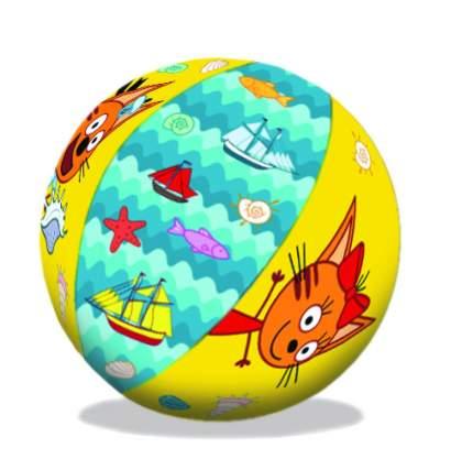 Надувной мяч Три кота, 41 см