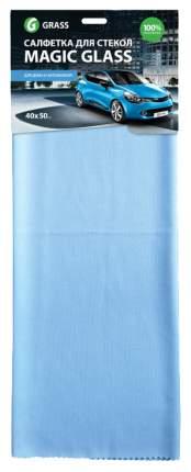 Салфетка Grass микрофибра 50x40 для зеркал и стекол 1 шт