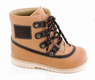Ортопедические ботинки Sursil-Ortho 23-216_M для девочек бежевый