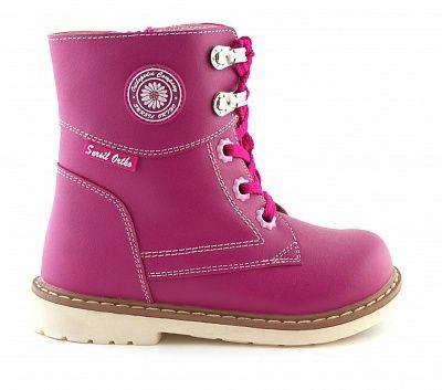 Ортопедические ботинки Sursil-Ortho 55-155_M для девочек розовый